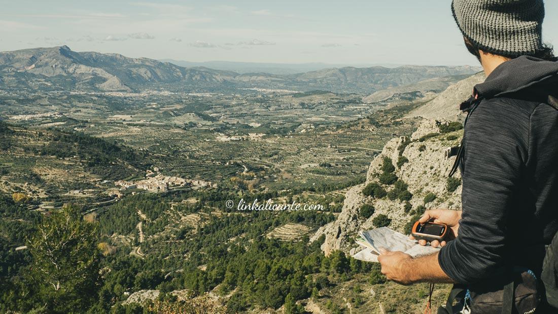 Mapas Senderismo provincia de Alicante