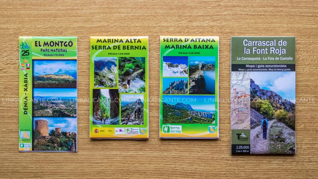 Mapas Senderismo Alicante