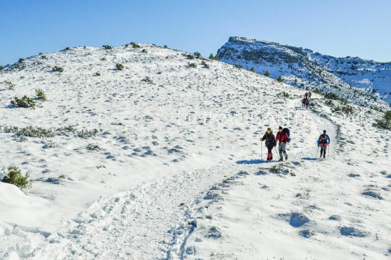 Mejores rutas con nieve en Alicante