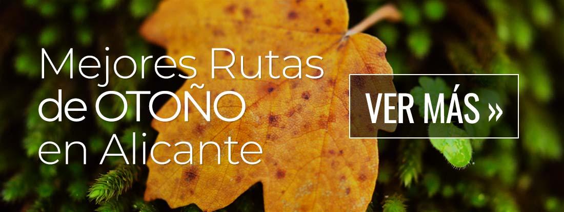 Las mejores rutas de Otoño en la provincia de Alicante