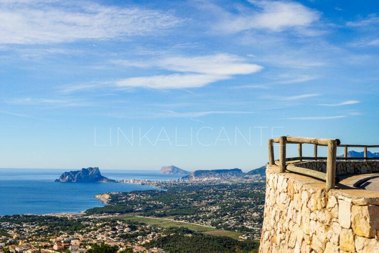 Mirador del Puig de la Llorença - Benitatxell
