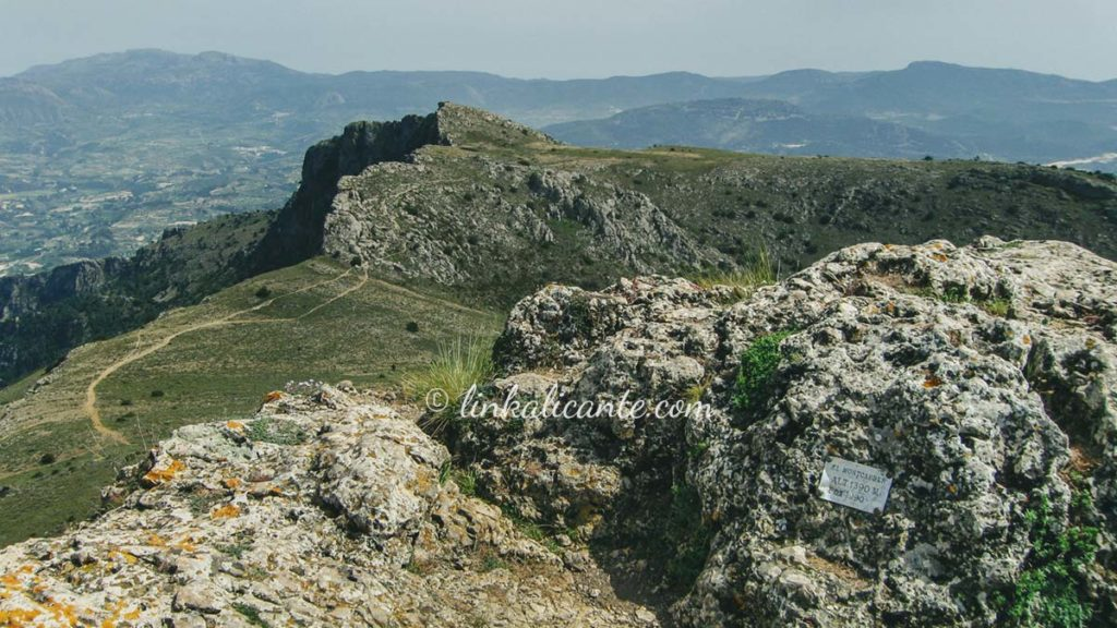 Montcabrer, Serra de Mariola
