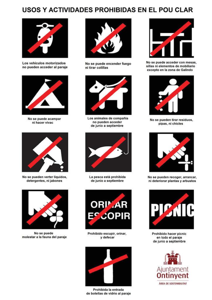 Normas de uso del Pou Clar, Ontinyent
