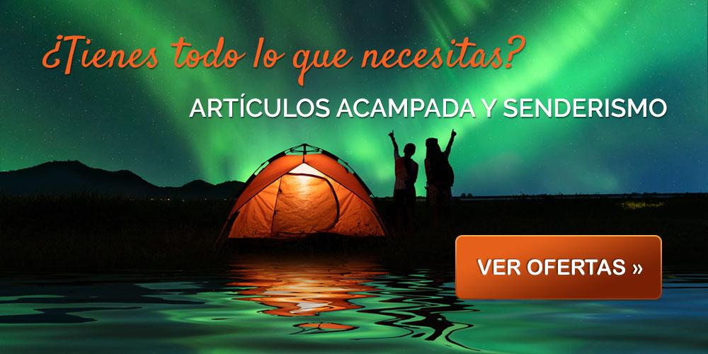 Ofertas en productos de acampada y senderismo