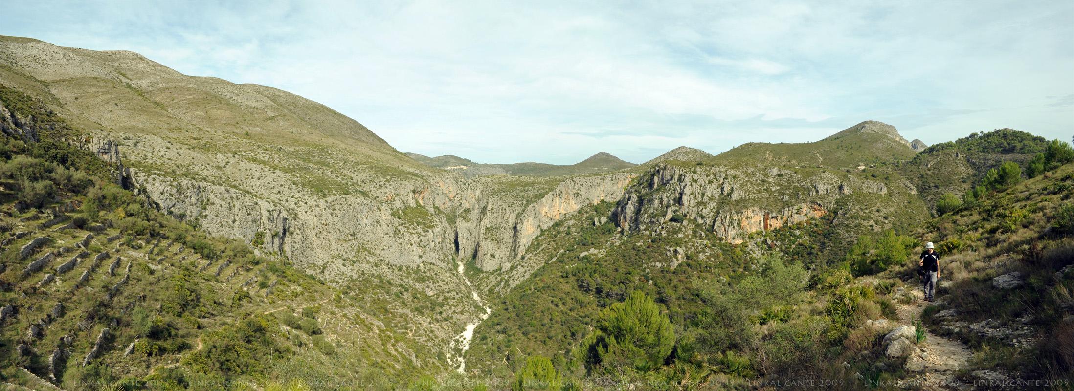 Barranc de l'Infern - Vista panorámica