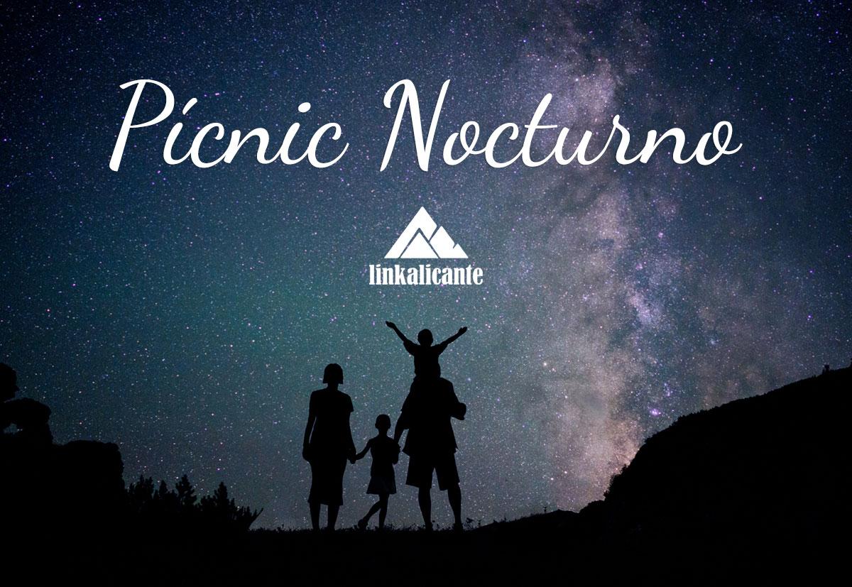 Picnic Ruta Excursion nocturna provincia Alicante