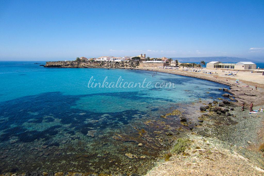 Playa Central de Tabarca