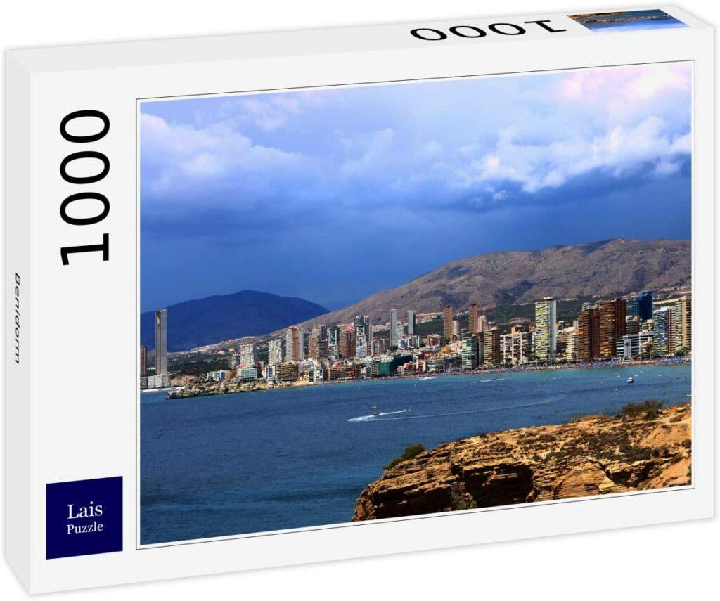 Puzzle 1000 piezas Benidorm, Alicante