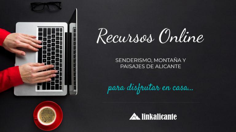 Recursos online Senderismo Alicante