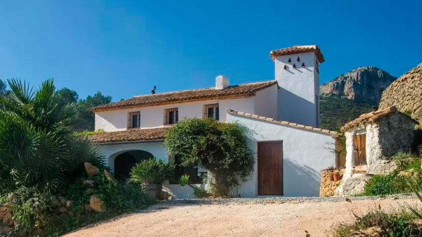 Refugio Marnes alojamiento recomendado Sierra de Bernia