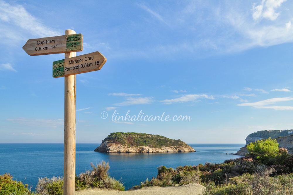Ruta Cap Prim Cala Sardinera Xàbia