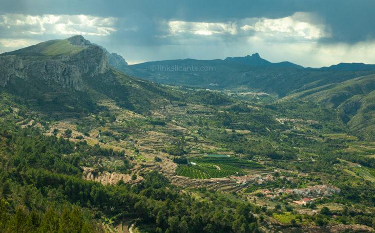 Ruta de los 8 Pueblos, la Vall de Gallinera