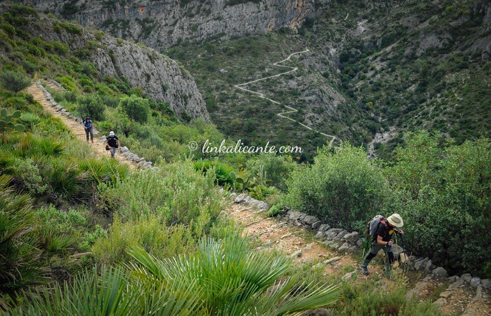 Ruta Senderista Barranc de l'Infern PR-CV 147 Vall de Laguar