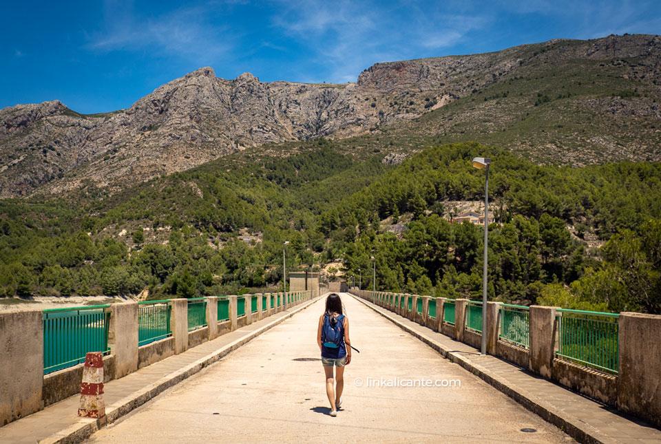 Ruta Vuelta Embalse de Guadalest