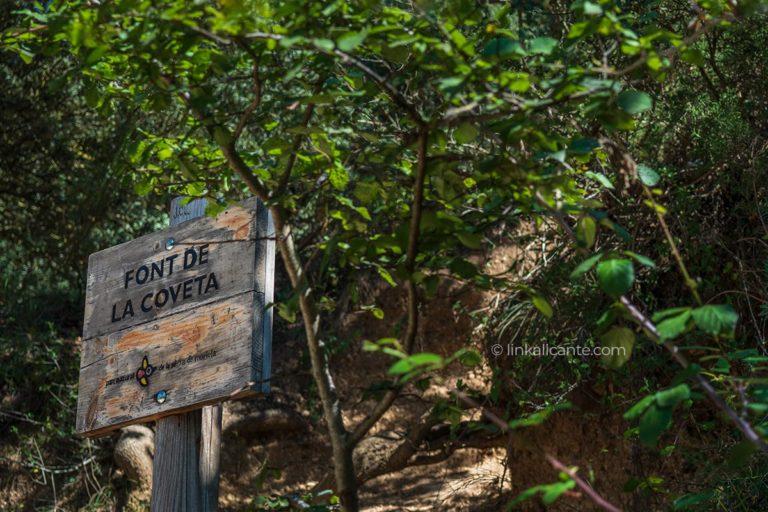 Ruta de senderismo Font de la Coveta - nacimiento del Río Vinalopó