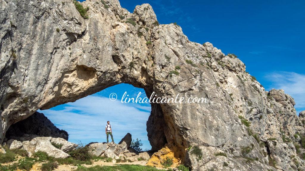 Ruta Penya Foradà desde Vall d'Alcalà