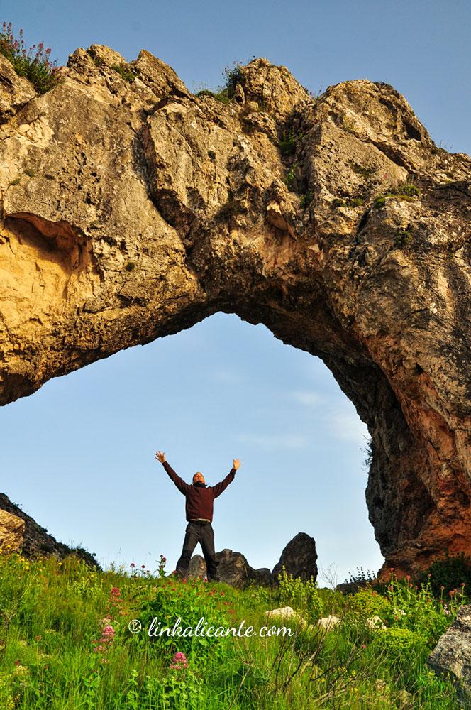 Penya Foradà desde Vall de Gallinera