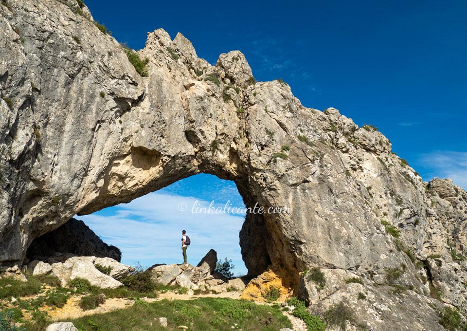 Ruta de la Penya Foradà, Vall de Gallinera