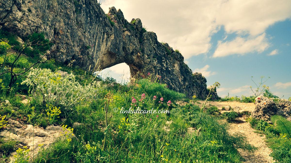 Ruta de la Penya Foradà de Vall de Gallinera