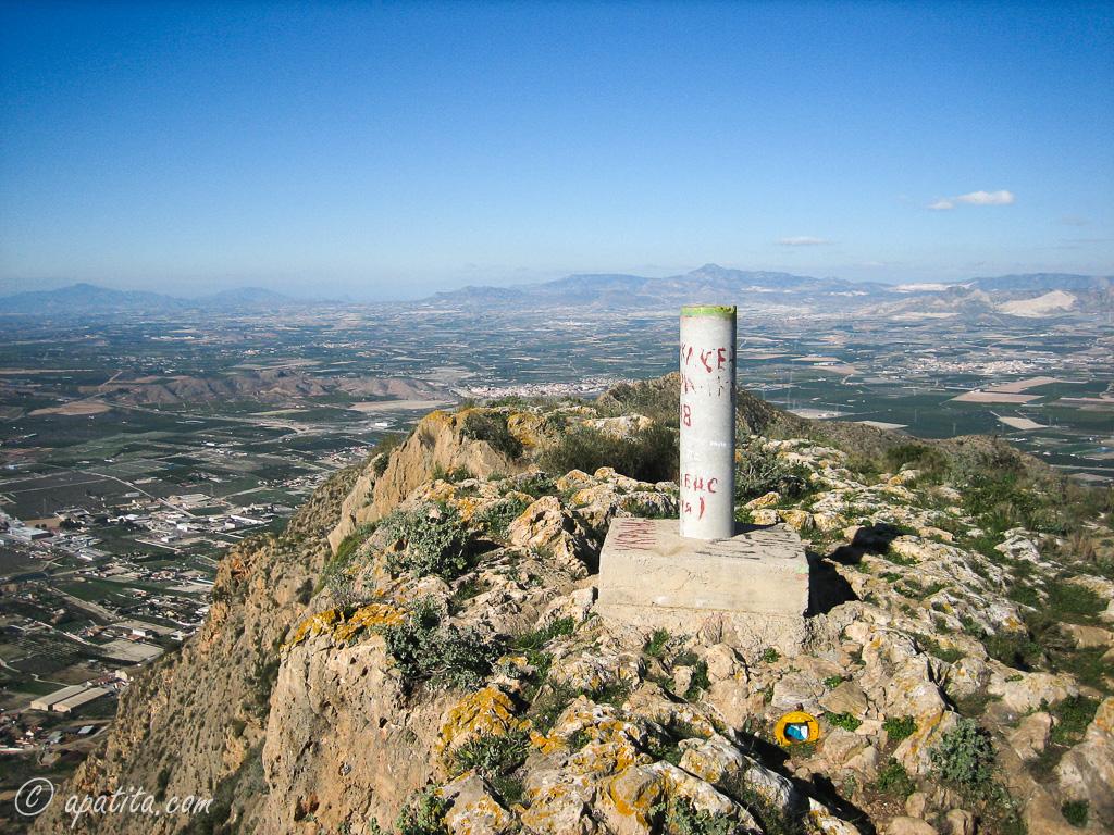 Pico del Águila, Sierra de Callosa