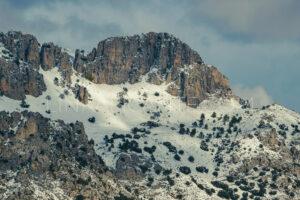 Ruta subida Pla de la Casa con nieve desde Benasau