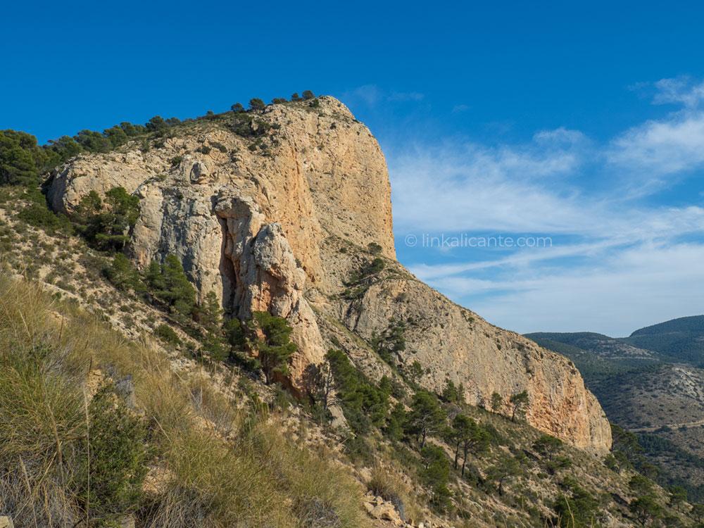 Ruta senderismo Sierra del Cid