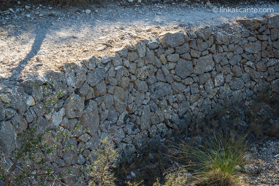 Margen piedra seca Sierra del Cid