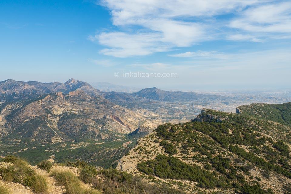 Ruta Sierra Cid vistas cumbre