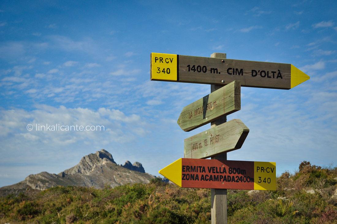 Ruta Sierra Oltà Calpe