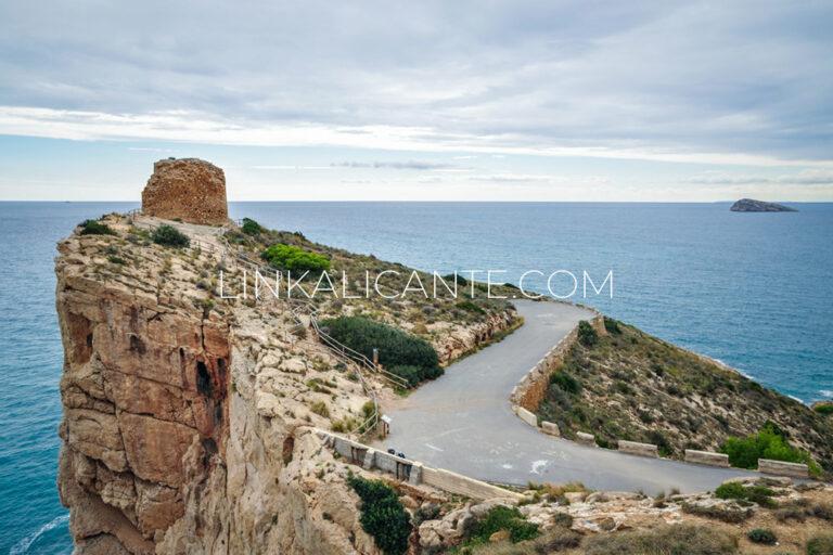 Torre de les Caletes o Punta del Cavall, Benidorm