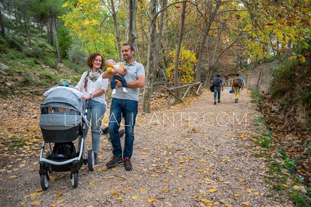 Rutas de Senderismo para hacer con Carrito de Bebé en la provincia de Alicante