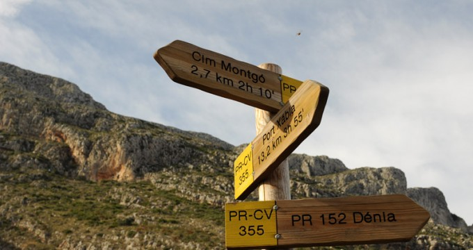 Rutas senderismo Montgó - Denia