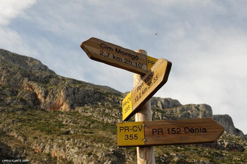 Rutas senderismo en el Montgó