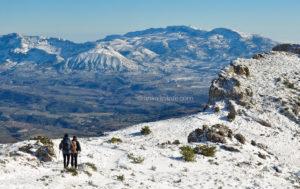 Rutas de senderismo en la nieve en la provincia de Alicante