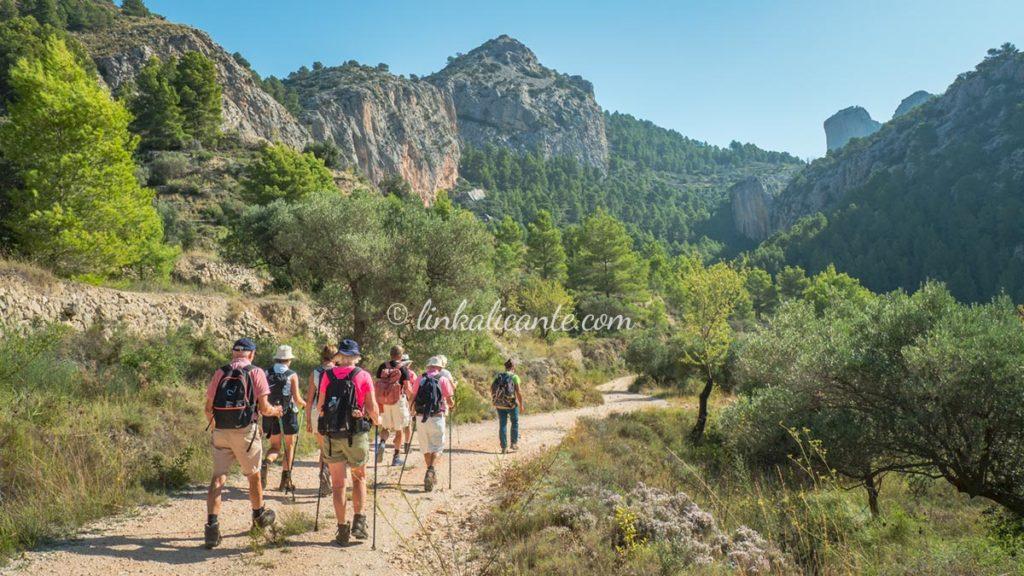 Rutas De Senderismo En Alicante Linkalicante