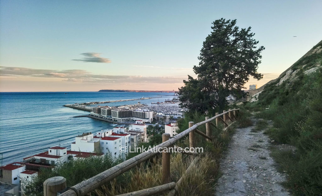 Senderos Monte Benacantil Alicante