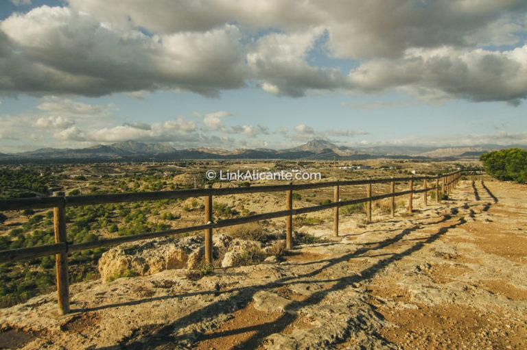Senderismo en Alicante Ciudad - Monte Orgegia