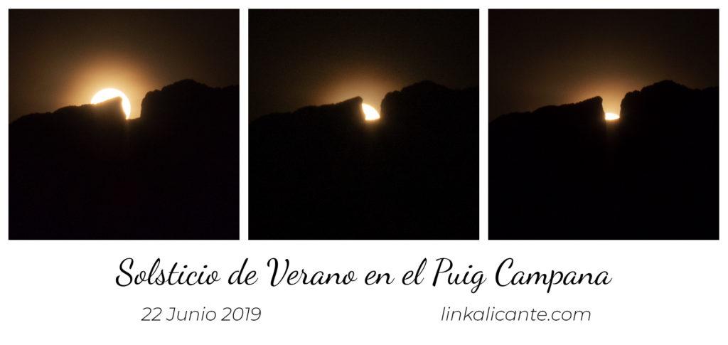 Alineación Solar en el Puig Campana
