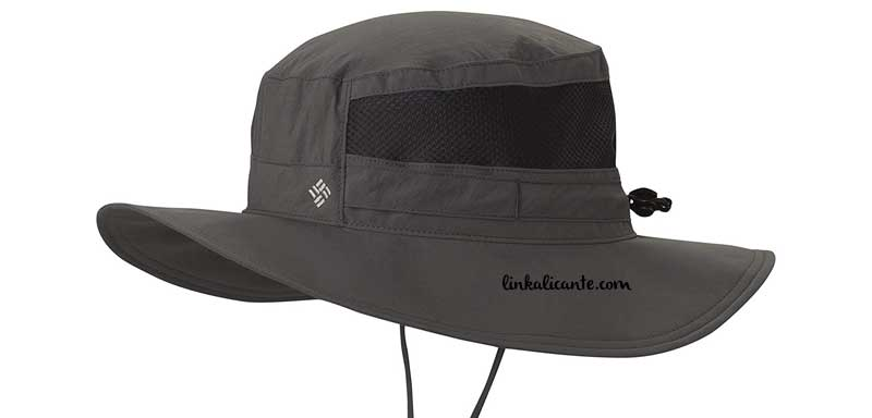 sombrero columbia senderismo