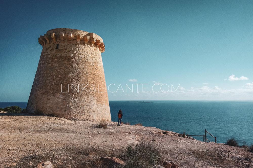 Torre vigía Escaletes o Torre del Pep, Santa Pola