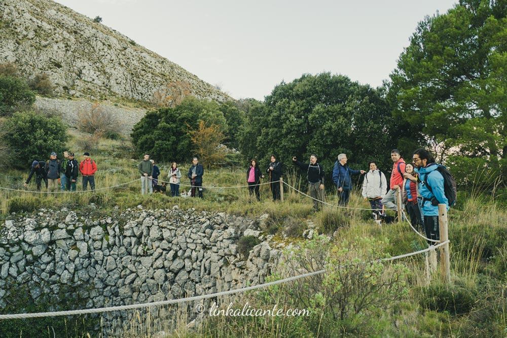 Turismo activo senderismo Sierra Aitana Alicante
