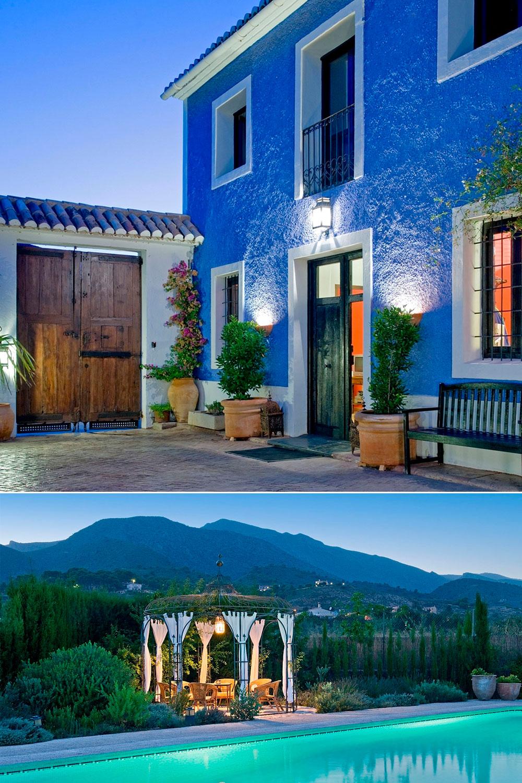 Hotel rural La Venteta, en Aigües (Alicante)