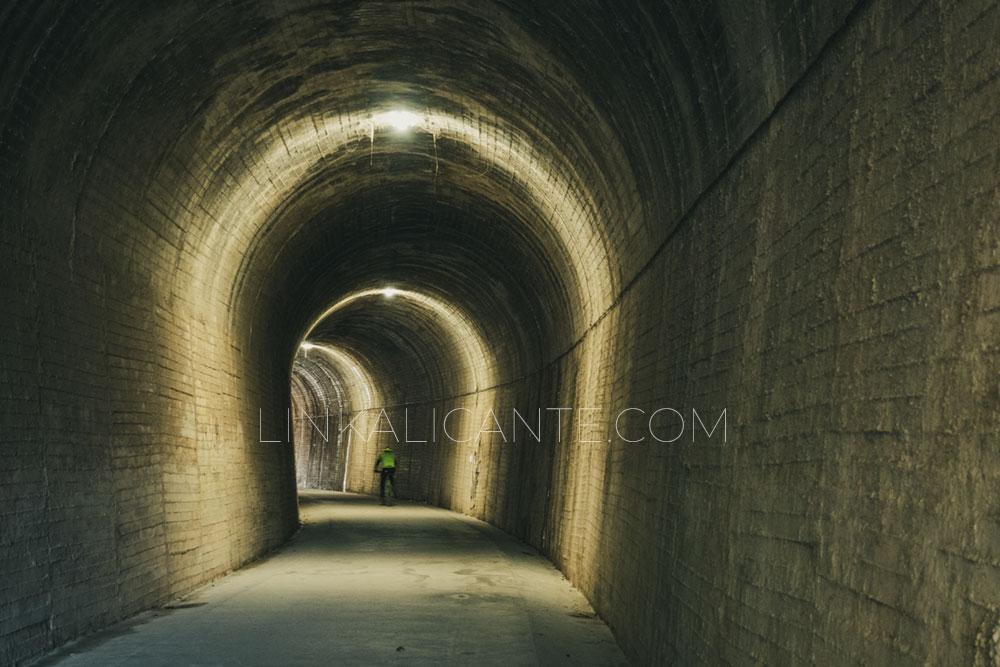 La Vía Verde de Alcoi- Ruta de los túneles