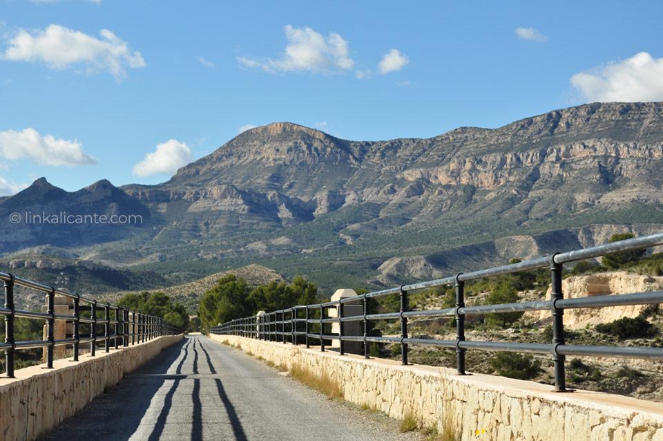 Vía Verde Maigmó - Agost, Alicante