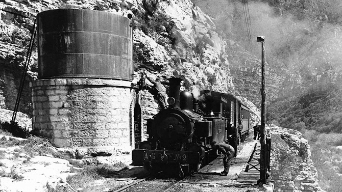 Vía Verde del Serpis, antiguo ferrocarril