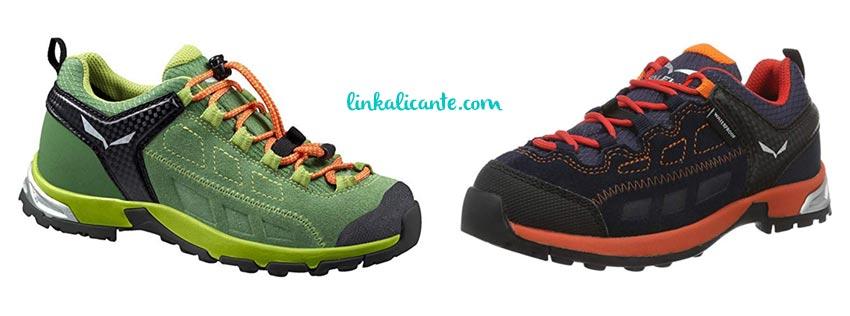 zapatos trekking niños salewa