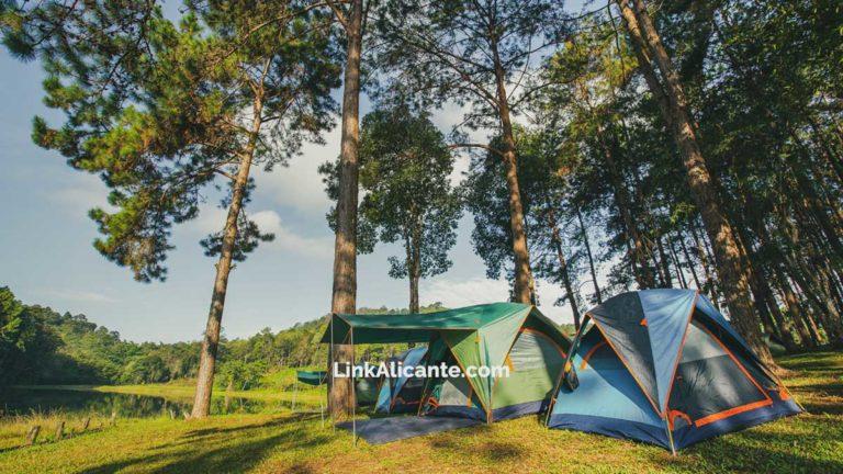 Zonas de acampada y campings en la provincia de Alicante